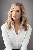 Actress Joanne Froggatt is photographed for Emmy Magazine on December 15 2015 in Los Angeles California Photo by Elisabeth Caren/Contour by Getty...