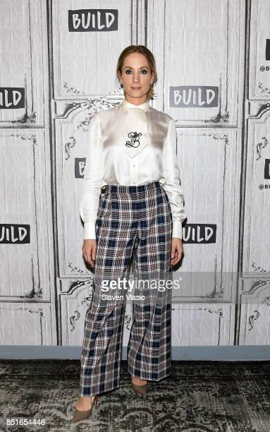 Actress Joanne Froggatt visits Build to talk about the sixpart series 'Liar' at Build Studio on September 22 2017 in New York City