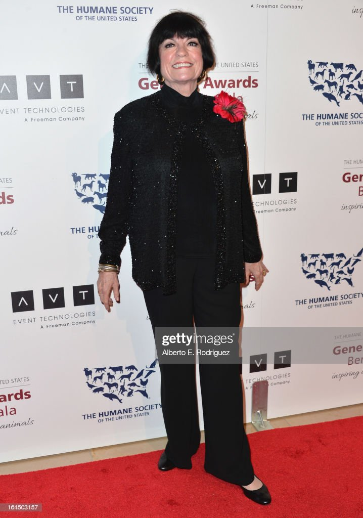 Actress JoAnne Worley arrives to the 2013 Genesis Awards Benefit Gala at The Beverly Hilton Hotel on March 23, 2013 in Beverly Hills, California.