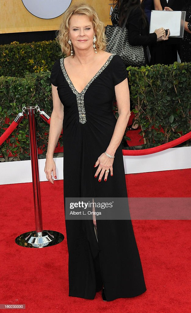 Actress JoBeth Williams arrives for the 19th Annual Screen Actors Guild Awards - Arrivals held at The Shrine Auditorium on January 27, 2013 in Los Angeles, California.
