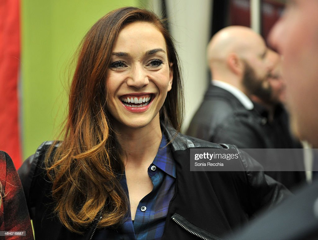 Actress Jocelyn DoBoer attends the 'Dead Snow; Red vs. Dead' premiere at Library Center Theater during the 2014 Sundance Film Festival on January 19, 2014 in Park City, Utah.