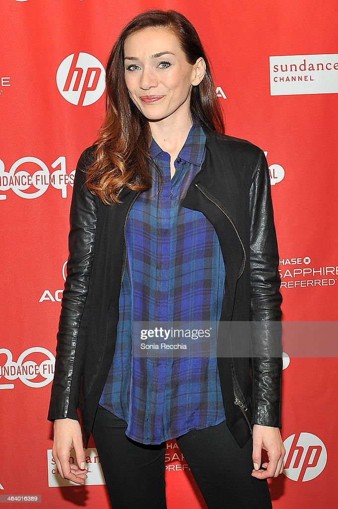 Actress Jocelyn DoVoer attends the 'Dead Snow; Red vs. Dead' premiere at Library Center Theater during the 2014 Sundance Film Festival on January 19, 2014 in Park City, Utah.