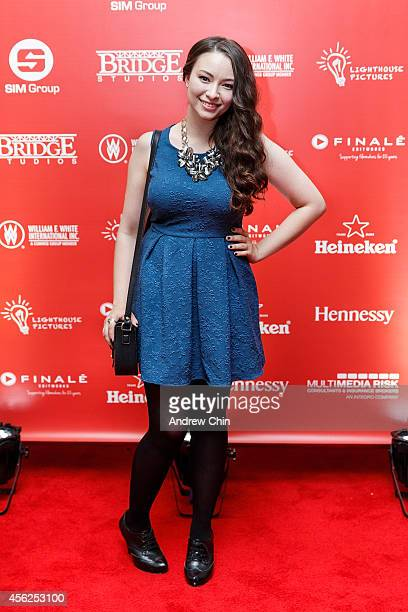 Actress Jodelle Ferland attends Lighthouse Pictures' annual red carpet film party at Sutton Place Hotel on September 27 2014 in Vancouver Canada