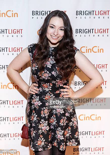 Actress Jodelle Ferland attends the 13th anniversary party of Brightlight Pictures at CinCin Ristorante on September 26 2014 in Vancouver Canada