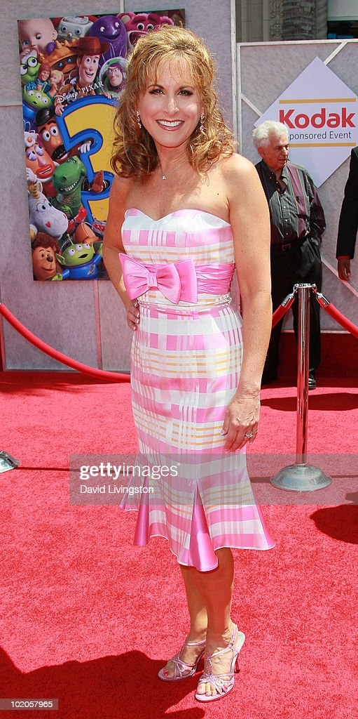 Actress Jodi Benson attends the Los Angeles premiere of 'Toy Story 3' at the El Capitan Theatre on June 13, 2010 in Hollywood, California.