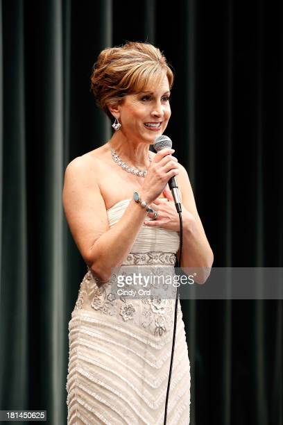 Actress Jodi Benson performs during Disney's The Little Mermaid special screening at Walter Reade Theater on September 21 2013 in New York City