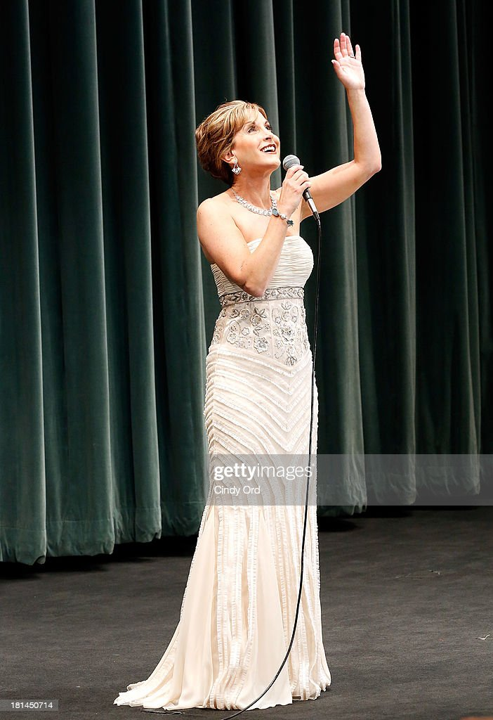 Actress Jodi Benson performs during Disney's The Little Mermaid special screening at Walter Reade Theater on September 21, 2013 in New York City.