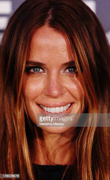 Actress Jodi Gordan attends 'The Cup' Sydney premiere on October 11 2011 in Sydney Australia