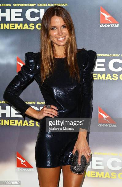 Actress Jodi Gordan attends 'The Cup' Sydney premiere on October 11 2011 in Sydney Australia