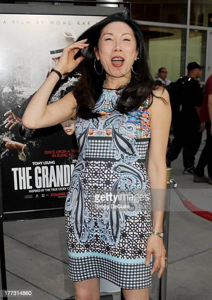 Actress Jodi Long arrives at the Los Angeles premiere of 'The Grandmaster' at ArcLight Cinemas on August 22 2013 in Hollywood California
