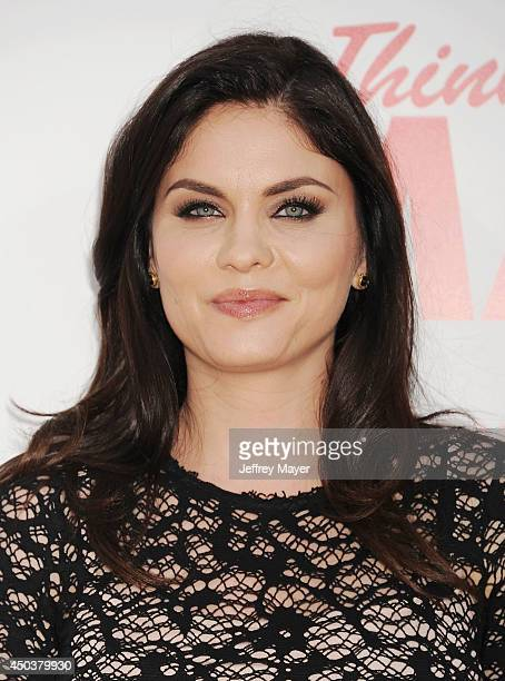 Actress Jodi Lyn O'Keefe attends the Los Angeles Premiere of 'Think Like A Man Too' at TCL Chinese Theatre on June 9 2014 in Hollywood California