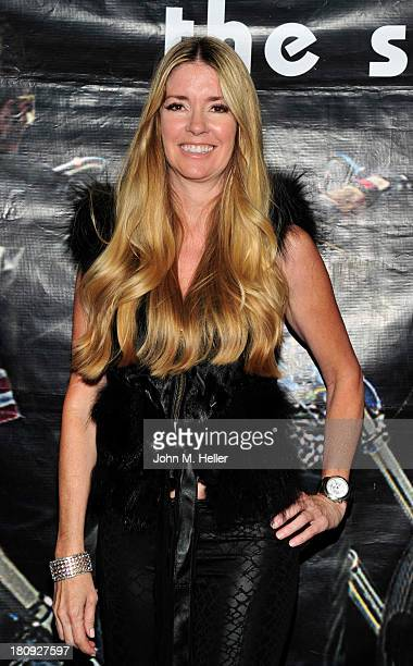 Actress Jodie Fisher attends the premiere of 'Easy Rider The Ride Back' RideIn at Bartels' HarleyDavidson on September 17 2013 in Marina del Rey...