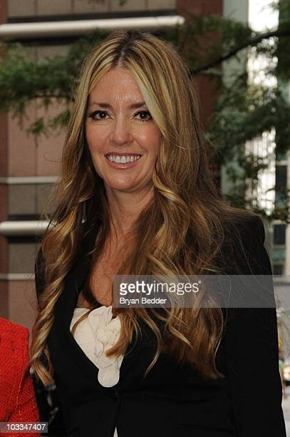 Actress Jodie Fisher is seen outside the New York Friars Club on August 11 2010 in New York City
