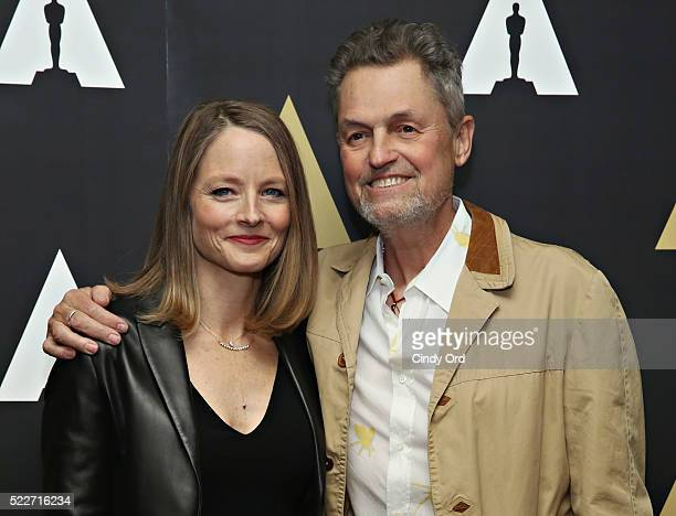 Actress Jodie Foster and director Jonathan Demme attend The Academy Museum presents 25th Anniversary event of 'Silence Of The Lambs' at The Museum of...