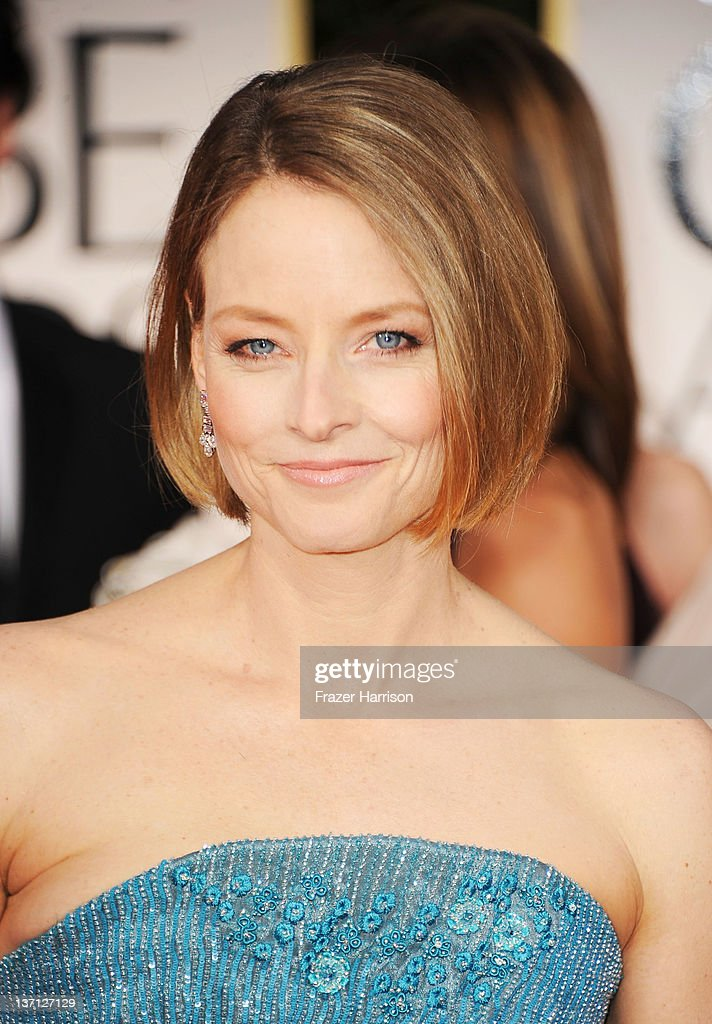 Actress <a gi-track='captionPersonalityLinkClicked' href=/galleries/search?phrase=Jodie+Foster&family=editorial&specificpeople=204488 ng-click='$event.stopPropagation()'>Jodie Foster</a> arrives at the 69th Annual Golden Globe Awards held at the Beverly Hilton Hotel on January 15, 2012 in Beverly Hills, California.