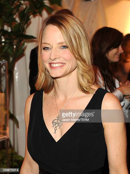 Actress Jodie Foster attends ELLE's 17th Annual Women in Hollywood Tribute at The Four Seasons Hotel on October 18 2010 in Beverly Hills California