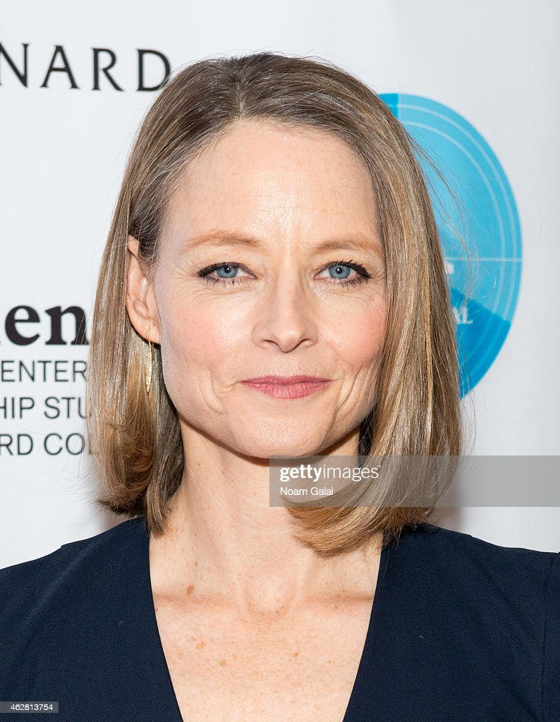 Actress <a gi-track='captionPersonalityLinkClicked' href=/galleries/search?phrase=Jodie+Foster&family=editorial&specificpeople=204488 ng-click='$event.stopPropagation()'>Jodie Foster</a> attends the 2015 Athena Film Festival opening night reception at Barnard College on February 5, 2015 in New York City.