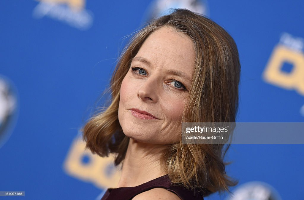 Actress <a gi-track='captionPersonalityLinkClicked' href=/galleries/search?phrase=Jodie+Foster&family=editorial&specificpeople=204488 ng-click='$event.stopPropagation()'>Jodie Foster</a> attends the 67th Annual Directors Guild of America Awards at the Hyatt Regency Century Plaza on February 7, 2015 in Los Angeles, California.