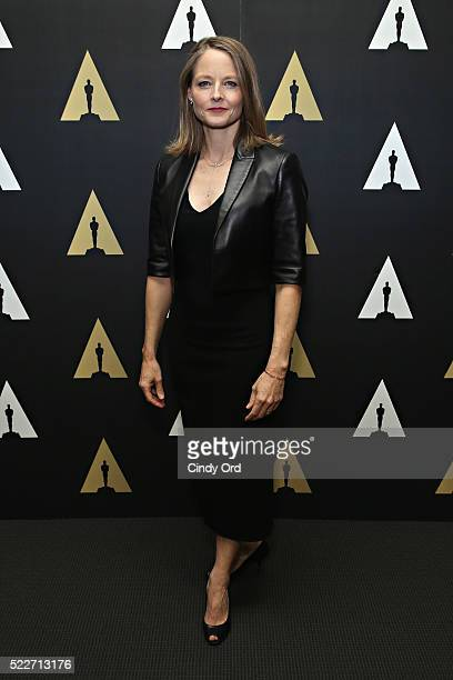 Actress Jodie Foster attends The Academy Museum presents 25th Anniversary event of 'Silence Of The Lambs' at The Museum of Modern Art on April 20...