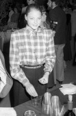 Actress Jodie Foster attends the 'Foxes' Culver City Premiere on February 26 1980 at MGM Studios in Culver City California