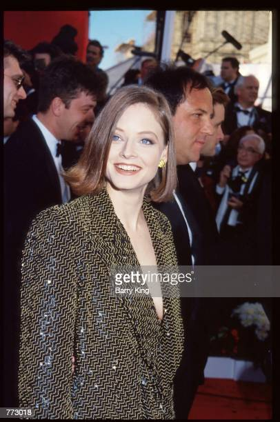 Actress Jodie Foster poses March 25 1991 in Los Angeles CA The Academy Awards are the foremost national film awards in the US and are given annually...