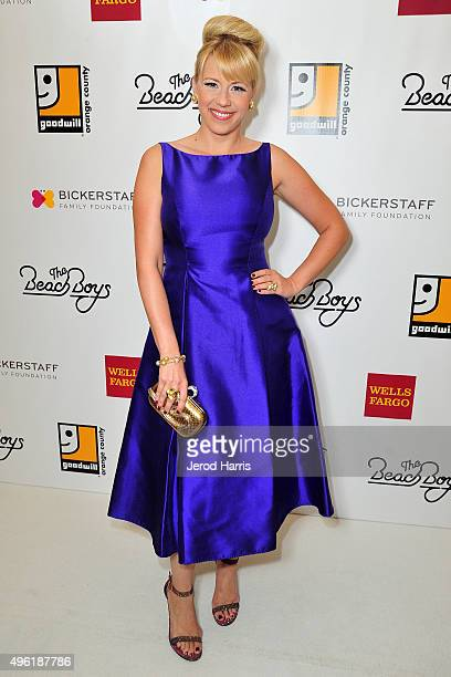 Actress Jodie Sweetin attends the 2nd Annual Goodwill Gala at Laguna Cliffs Marriott on November 7 2015 in Dana Point California