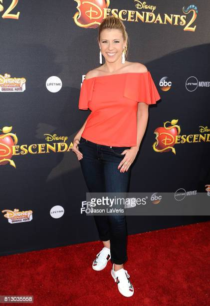 Actress Jodie Sweetin attends the premiere of 'Descendants 2' at The Cinerama Dome on July 11 2017 in Los Angeles California