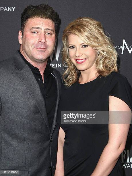 Actress Jodie Sweetin attends The Weinstein Company and Netflix Golden Globe Party presented with FIJI Water Grey Goose Vodka Lindt Chocolate and...