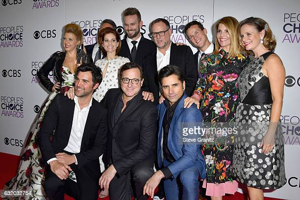 Actress Jodie Sweetin producer Jeff Franklin actors Candace Cameron Bure John Brotherton Dave Coulier Scott Weinger Lori Loughlin Andrea Barber and...