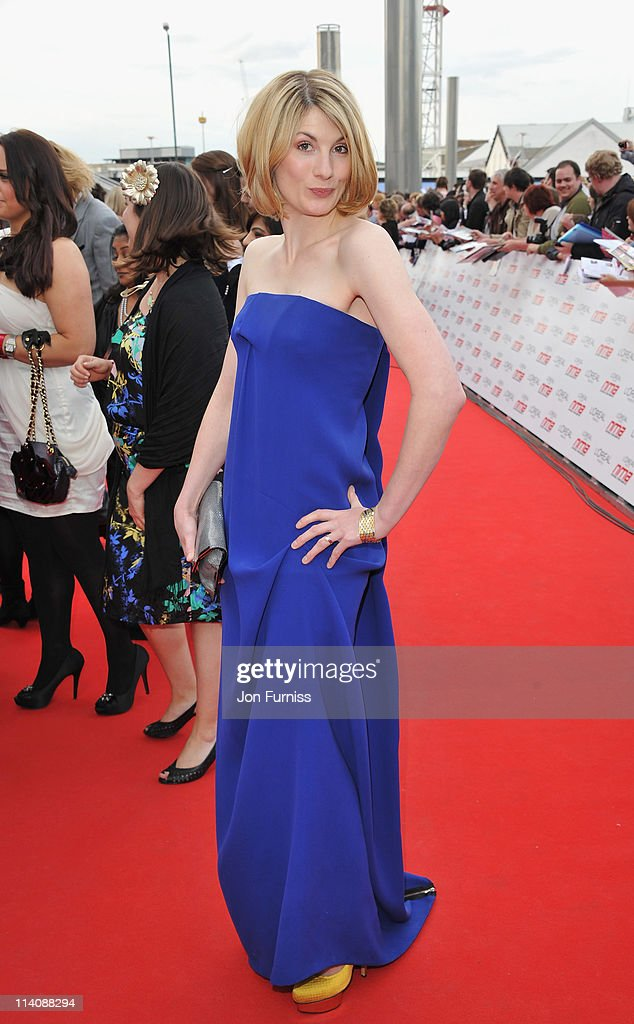Actress Jodie Whittaker arrives for the L'Oreal National Movie Awards 2011 at Wembley Arena on May 11 2011 in London England
