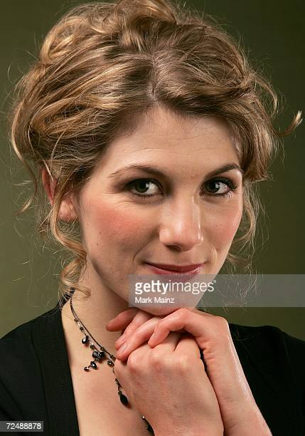 Actress Jodie Whittaker of the film 'Venus' poses in the portrait studio at the AFI FEST 2006 presented by Audi at the Arclight Hollywood on November...