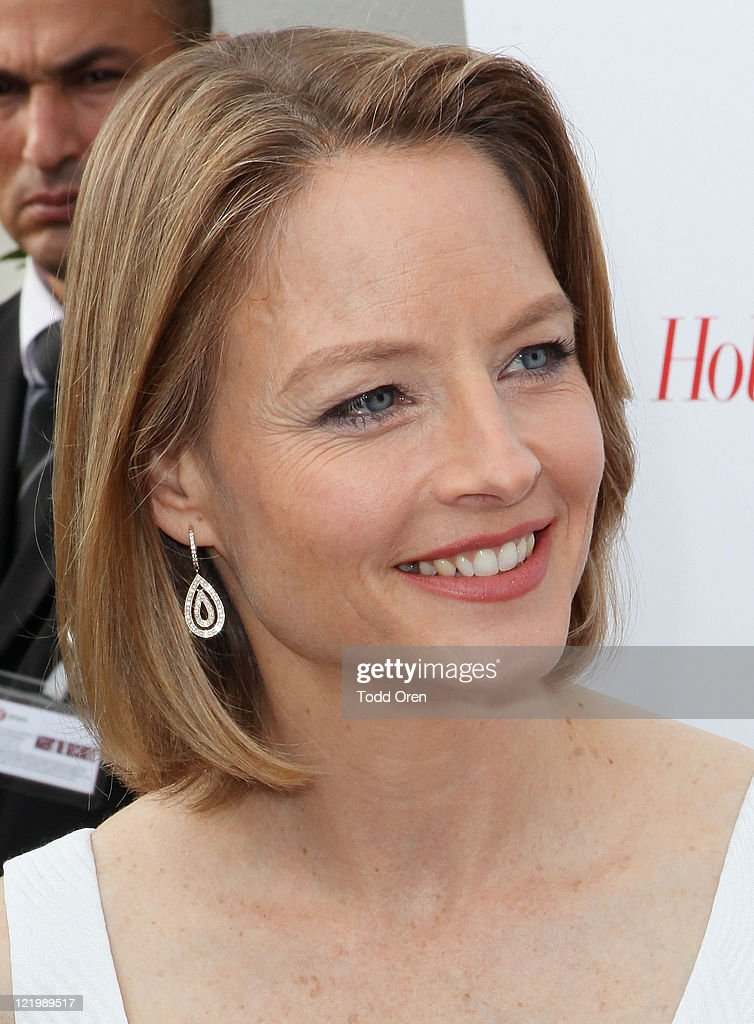 Actress Jodiee Foster attends the Hollywood Reporter honors Jodie Foster for 'The Beaver' hosted by vitaminwater at Z Plage vitaminwater on May 18, 2011 in Cannes, France.