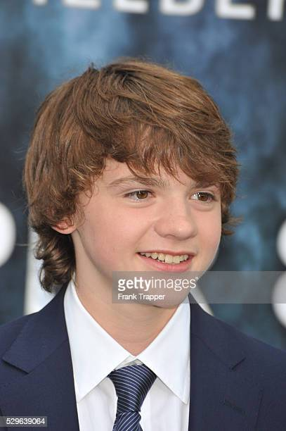 Actress Joel Courtney arrives at the Premiere of Paramount Pictures' 'Super 8' held at the Regency Village Theater in Westwood