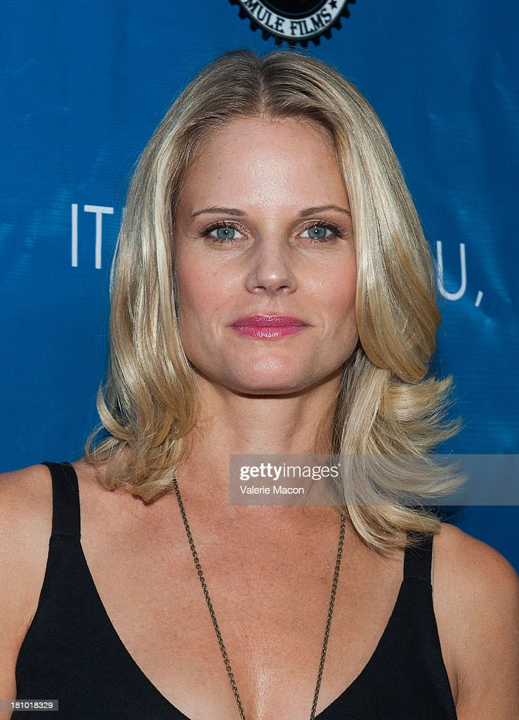 Actress <a gi-track='captionPersonalityLinkClicked' href=/galleries/search?phrase=Joelle+Carter&family=editorial&specificpeople=2433556 ng-click='$event.stopPropagation()'>Joelle Carter</a> arrives at the premiere of 'It's Not You, It's Me' at Downtown Independent Theatre on September 18, 2013 in Los Angeles, California.