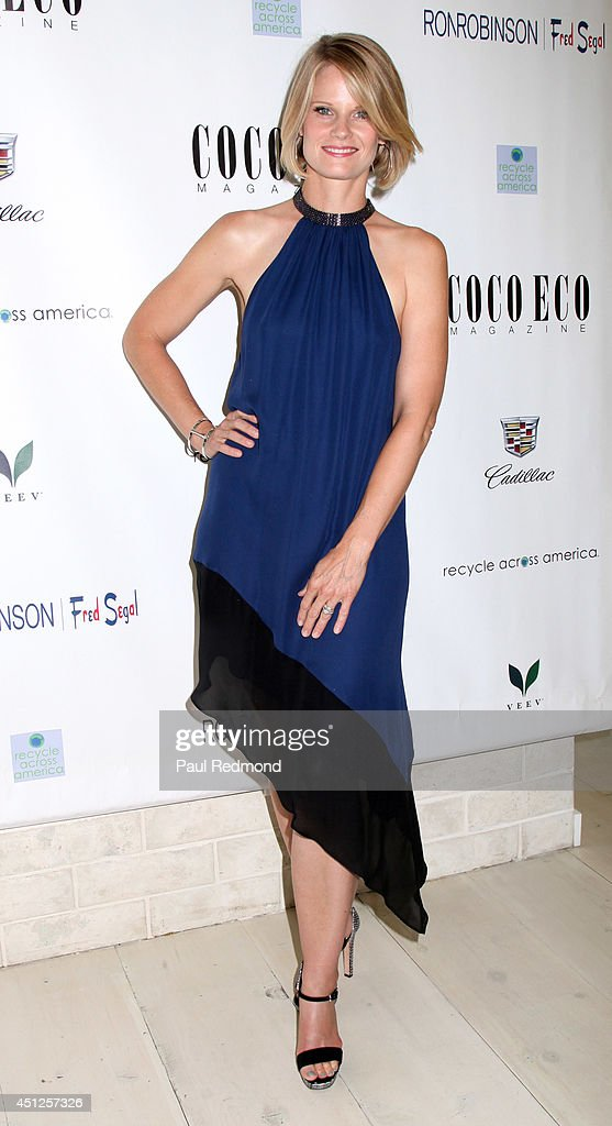 Actress <a gi-track='captionPersonalityLinkClicked' href=/galleries/search?phrase=Joelle+Carter&family=editorial&specificpeople=2433556 ng-click='$event.stopPropagation()'>Joelle Carter</a> attending COCO ECO Magazine Launches Debut Print Issue EARTH ROCKS! An Evening Of Eco-Chic Fashion & Beauty at Roy Robinson at Fred Segal on June 25, 2014 in Los Angeles, California.