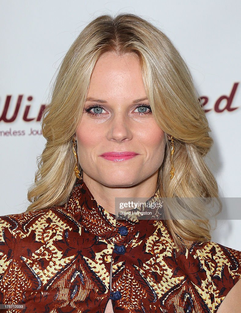 Actress <a gi-track='captionPersonalityLinkClicked' href=/galleries/search?phrase=Joelle+Carter&family=editorial&specificpeople=2433556 ng-click='$event.stopPropagation()'>Joelle Carter</a> attends a screening of Integrity Film Production's 'Red Wing' at Harmony Gold Theatre on August 6, 2013 in Los Angeles, California.