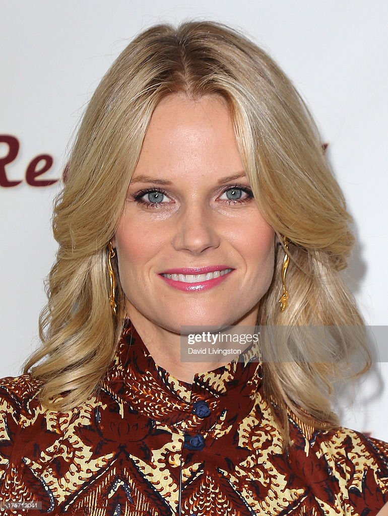 Actress Joelle Carter attends a screening of Integrity Film Production's 'Red Wing' at Harmony Gold Theatre on August 6, 2013 in Los Angeles, California.
