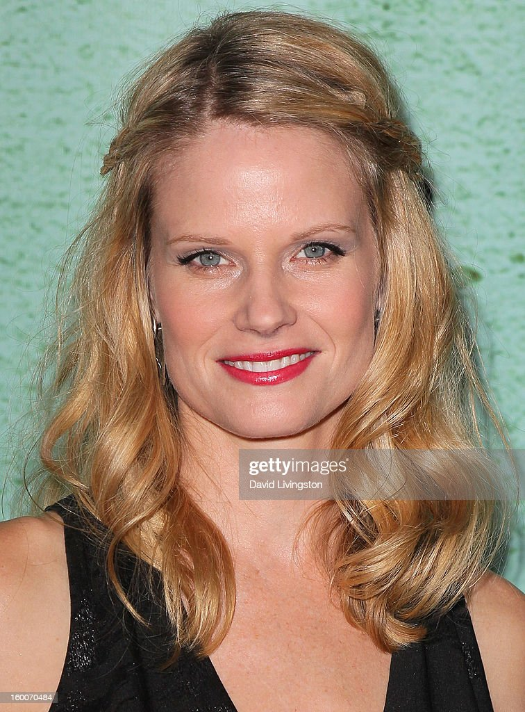 Actress Joelle Carter attends the premiere of FX's 'Justified' Season 4 at the Paramount Theater on the Paramount Studios lot on January 5, 2013 in Hollywood, California.