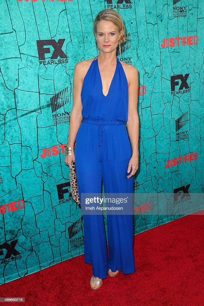 "Premiere Of FX's ""Justified"" Series Finale - Red Carpet"