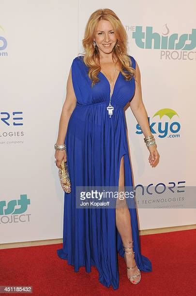 Actress Joely Fisher arrives at the 5th Annual Thirst Gala at The Beverly Hilton Hotel on June 24 2014 in Beverly Hills California