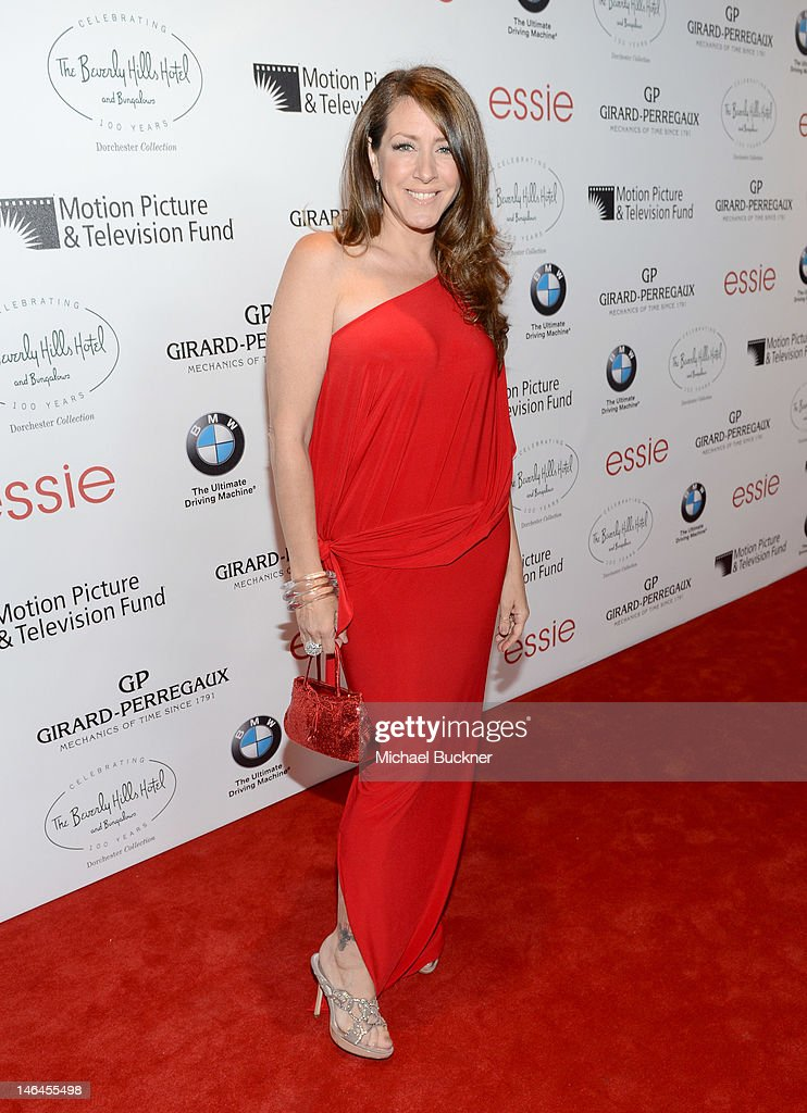 Actress <a gi-track='captionPersonalityLinkClicked' href=/galleries/search?phrase=Joely+Fisher&family=editorial&specificpeople=204228 ng-click='$event.stopPropagation()'>Joely Fisher</a> attends the 100th anniversary celebration of the Beverly Hills Hotel & Bungalows supporting the Motion Picture & Television Fund and the American Comedy Fund hosted by Brett Ratner and Warren Beatty at Beverly Hills Hotel on June 16, 2012 in Beverly Hills, California.