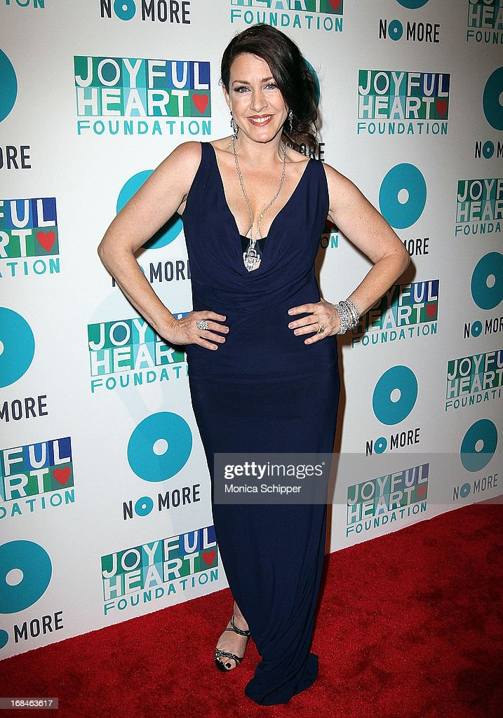 Actress <a gi-track='captionPersonalityLinkClicked' href=/galleries/search?phrase=Joely+Fisher&family=editorial&specificpeople=204228 ng-click='$event.stopPropagation()'>Joely Fisher</a> attends the 2013 Joyful Heart Foundation gala at Cipriani 42nd Street on May 9, 2013 in New York City.