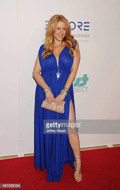 Actress Joely Fisher attends the 5th Annual Thirst Gala hosted by Jennifer Garner in partnership with Skyo and Relativity's 'Earth To Echo' on June...