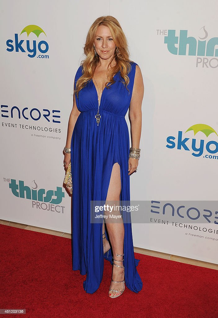 Actress <a gi-track='captionPersonalityLinkClicked' href=/galleries/search?phrase=Joely+Fisher&family=editorial&specificpeople=204228 ng-click='$event.stopPropagation()'>Joely Fisher</a> attends the 5th Annual Thirst Gala hosted by Jennifer Garner in partnership with Skyo and Relativity's 'Earth To Echo' on June 24, 2014 at the Beverly Hilton Hotel in Beverly Hills, California.