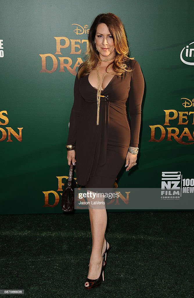 Actress Joely Fisher attends the premiere of 'Pete's Dragon' at the El Capitan Theatre on August 8 2016 in Hollywood California