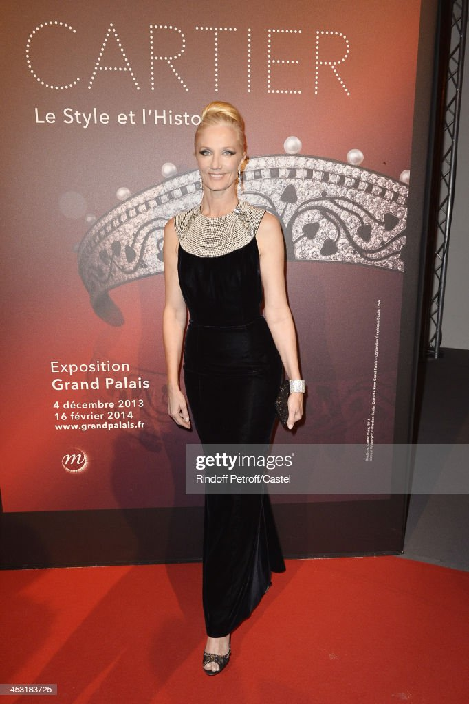Actress <a gi-track='captionPersonalityLinkClicked' href=/galleries/search?phrase=Joely+Richardson&family=editorial&specificpeople=201859 ng-click='$event.stopPropagation()'>Joely Richardson</a> attends the 'Cartier: Le Style et L'Histoire' Exhibition Private Opening at Le Grand Palais on December 2, 2013 in Paris, France.