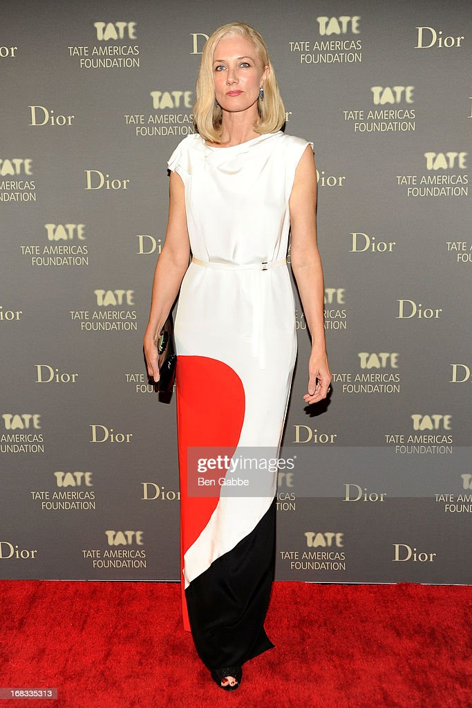 Actress Joely Richardson attends the Tate Americas Foundation Artists Dinner at Skylight at Moynihan Station on May 8, 2013 in New York City.