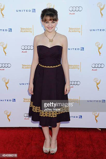 Actress Joey King arrives at the Television Academy's 66th Emmy Awards Performance Nominee Reception at the Pacific Design Center on Saturday Aug 23...