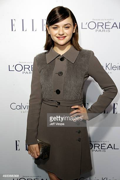 Actress Joey King attends the 22nd Annual ELLE Women in Hollywood Awards presented by Calvin Klein Collection L'Oréal Paris and David Yurman at the...