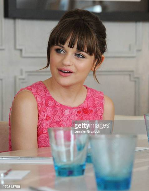Actress Joey King attends The London West Hollywood Disney Present The Launch of 'Oz The Great and Powerful' on Bluray Hosted by Joey King at The...
